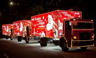 Caravana da Coca-Cola e atividades gratuitas marcam a chegada do Papai Noel em shopping de Uberlândia