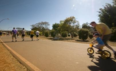 Caminhada gratuita em Brasília promove a saúde e o bem-estar