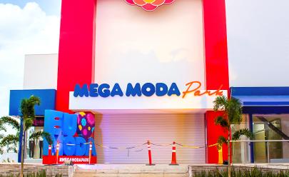 Mega Moda Park é inaugurado na 44 com passarela de 50 metros sobre a Leste-Oeste
