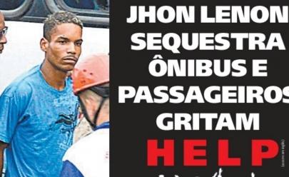 A capa do jornal carioca Meia Hora desta quarta-feira (22) conquistou a internet