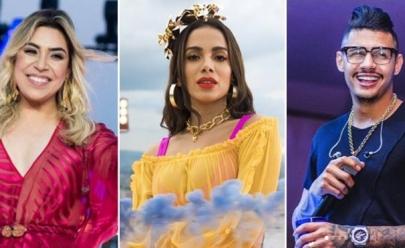 Anitta, Naiara Azevedo e Hungria agitam o Goiânia Music Festival