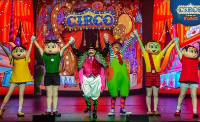 Circo da Turma da Mônica chega a Goiânia