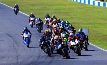 Campeonato de motovelocidade tem recorde de competidores em etapa deste fim de semana