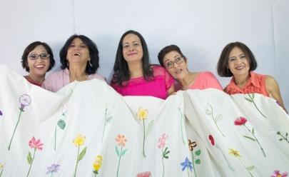 Instituição formada por bordadeiras que mudaram de vida através da arte expõem em Goiânia