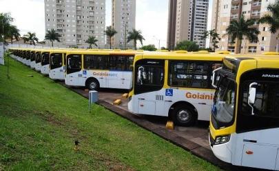 Em virtude da greve dos caminhoneiros ônibus trafegam com frota reduzida em Goiânia