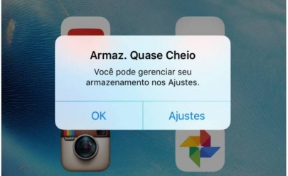 Veja como liberar espaço no seu iPhone automaticamente