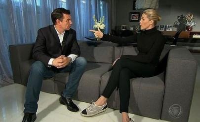 Ana Hickmann fala sobre tentativa de assassinato em entrevista ao Domingo Espetacular da Record