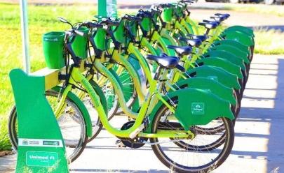 Goiânia terá cinco novos pontos de bicicletas compartilhadas