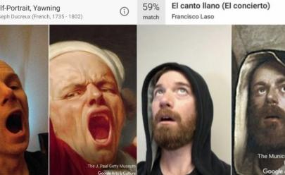 Google lança aplicativo que mostra qual obra de arte se parece com você