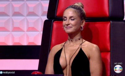 Claudia Leitte usa superdecote e rouba a cena no 'The Voice Brasil'