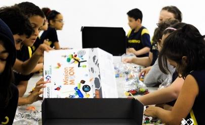 Colégio de Brasília promove etapa regional de torneio internacional de robótica