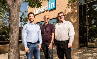 Microsoft anuncia compra da Linkedin por US$ 26,2 bilhões