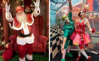 Shopping de Brasília recebe a chegada do Papai Noel e da Turma do Chaves