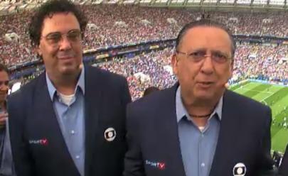 Casagrande faz desabafo durante transmissão e emociona Galvão na final da Copa