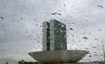 Previsão do tempo: chuvas devem voltar a cair no DF nesta quinta-feira