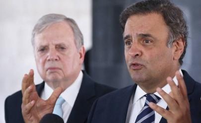 Climão! Aécio Neves destitui Tasso Jereissati da presidência do PSDB