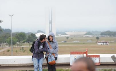 Prepare o casaco! Brasília pode ter sensação térmica de 10º neste fim de semana