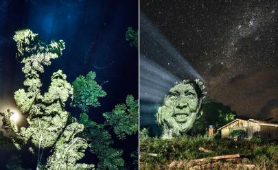 Artista cria primeira street art na Amazônia para proteger floresta e povos indígenas; veja vídeo