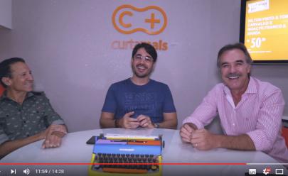Nilton Pinto e Tom Carvalho dão show de irreverência e simpatia durante entrevista exclusiva ao Curta Mais
