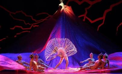 Circo Imperial da China apresenta em Brasília o espetáculo 'On Ice', todo realizado no gelo