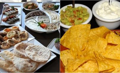 Rodízio de comida árabe e mexicana acontece nesta quarta com preço justo em Goiânia
