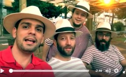 Heróis de Botequim regrava 'Água de Beber' em vídeo e o resultado é incrível