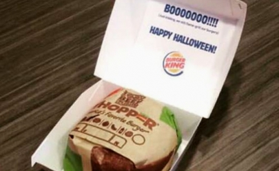 Burger King se fantasia de McDonald's para o Dia das Bruxas