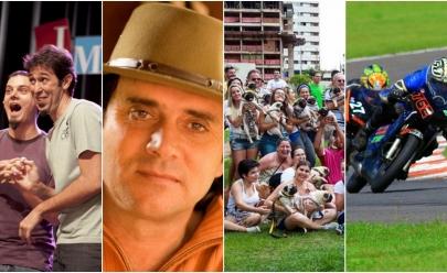 Os eventos que vão tirar você de casa neste final de semana em Goiânia