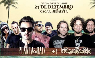 Planta & Raiz e Maskavo fazem show de reggae em Goiânia