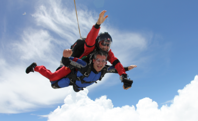 Quer saltar de Paraquedas nos arredores de Brasília? O Curta Mais mostra como