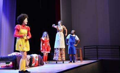 Espetáculo infantil sobe aos palcos de Brasília