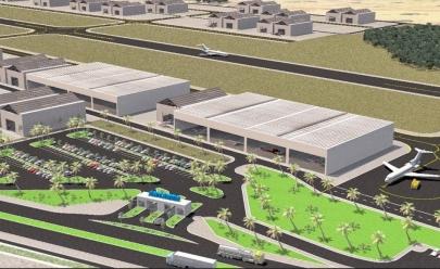 Novo aeroporto executivo em Aparecida de Goiânia deve ficar pronto em 2020