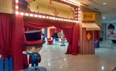 Shopping Bougainville monta circo durante o mês das crianças com entrada gratuita