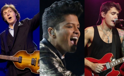 Paul McCartney, John Mayer e Bruno Mars devem desembarcar no Brasil em 2017