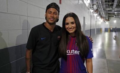 Efeito Villa Mix? Neymar e Demi Lovato são vistos juntos e internet especula sobre affair