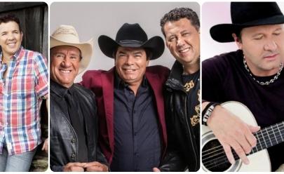 Goiânia recebe show com Di Paullo e Paulino, Trio Parada Dura e Paraná em especial do Dias dos Pais
