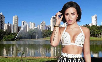 O roteiro perfeito para Demi Lovato em Goiânia, segundo internautas