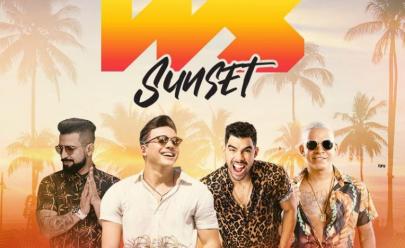 Sunset do Wesley Safadão traz Gabriel Diniz, Dennis DJ e Aldair Playboy a Goiânia