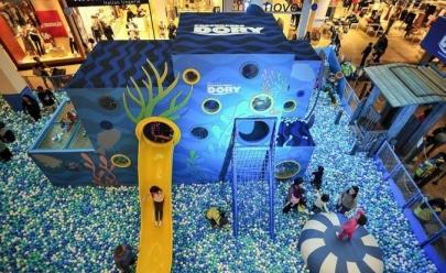 Goiânia Shopping recebe atração inédita da Disney inspirada em 'Procurando Dory'