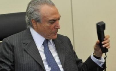 Michel Temer recebe ligação de Mauricio Macri, mas era trote