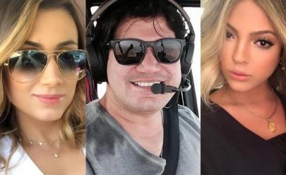 Queda de helicóptero no Lago das Brisas deixa 3 jovens mortos, em Buriti Alegre