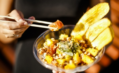 Restaurante havaiano conquista paladar dos brasilienses