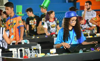 Goiânia recebe etapa regional de torneio de robótica com entrada gratuita