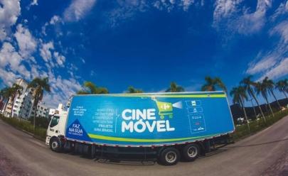 Goiânia recebe projeto itinerante que traz sessões gratuitas de filmes