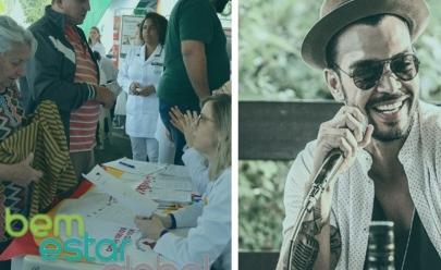 Com show de Thiago Brava, Goiânia recebe terceira edição do 'Bem Estar Global'