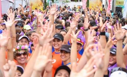 Dia da Mulher recebe corrida de rua exclusivamente feminina em Goiânia