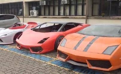 Polícia fecha fábrica de Ferraris e Lamborghinis falsas no Brasil