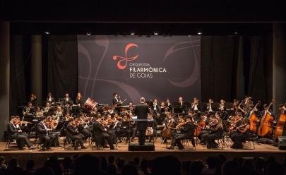 Orquestra Filarmônica de Goiás apresenta concerto gratuito nesta quinta-feira