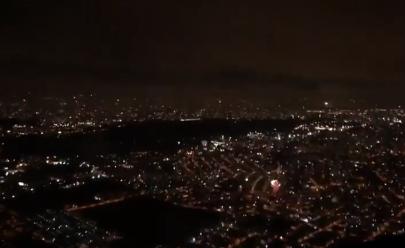 Avião decola exatamente na virada do ano em São Paulo e vídeo viraliza na web