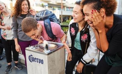 Los Angeles ganha bebedouro de... Tequila